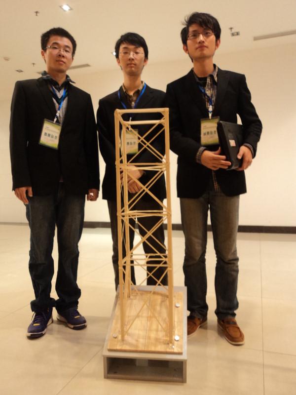 """结构设计竞赛大赛的命题为模拟""""竹质多层"""